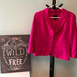 The Limited pink stretch blazer jacket size M
